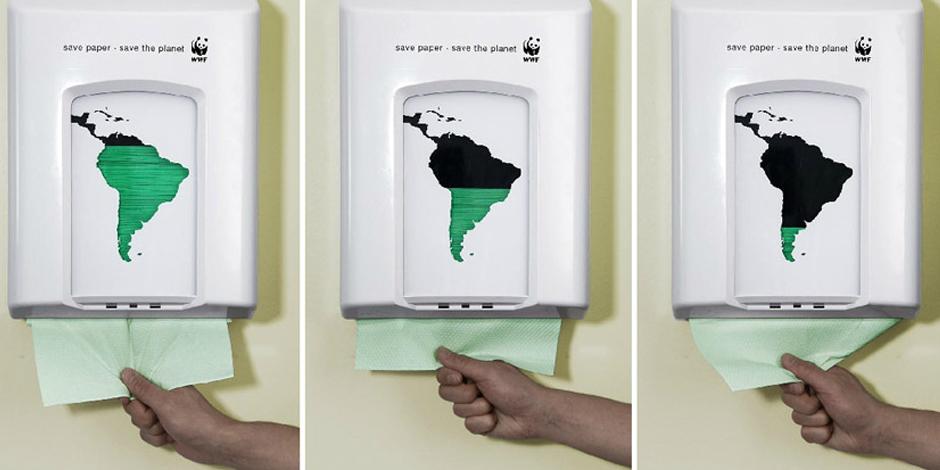 6. Беречь бумагу - спасти планету (Дания)