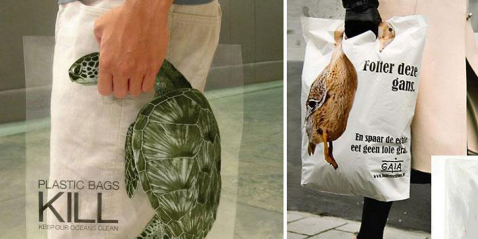 8. Пластиковые пакеты убивают (Малайзия, Бельгия)