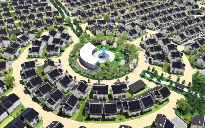 Panasonic построит в Японии еще один экологичный город