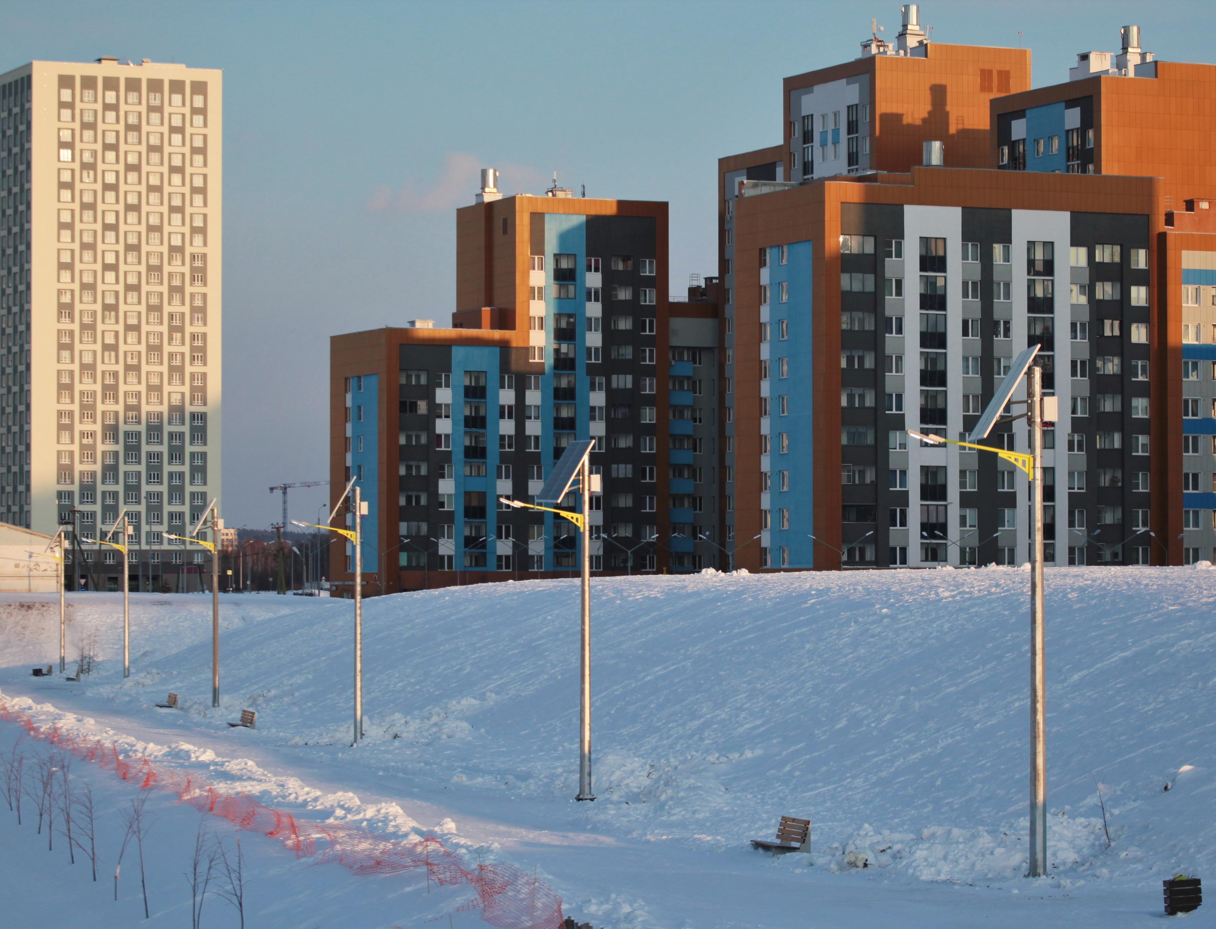 Парк Екатеринбурга будет освещаться за счет энергии солнца