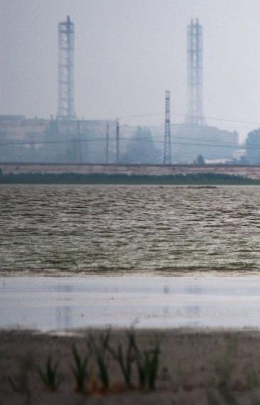 В Армянске мог произойти повторный выброс химических веществ