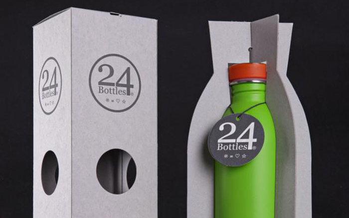 В России начали продавать многоразовые бутылки 24Bottles