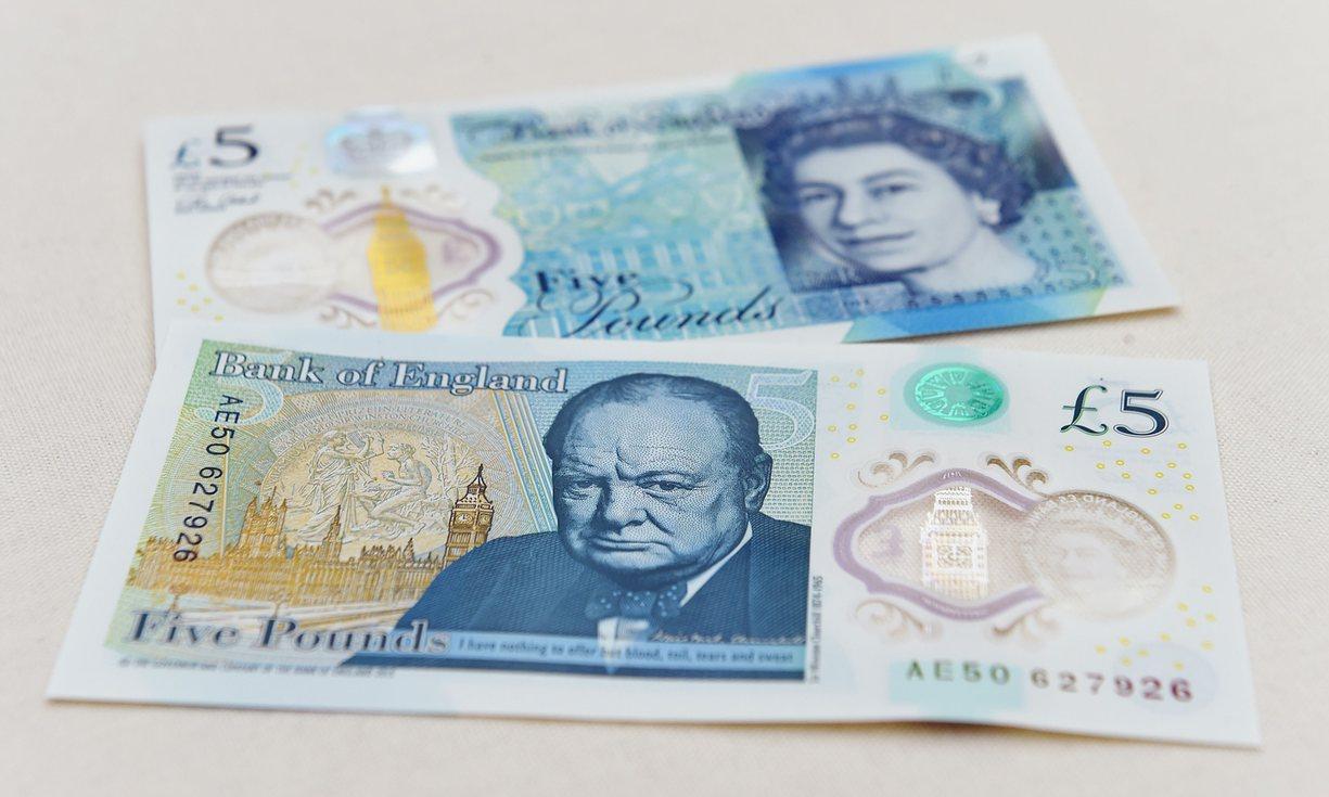 Британские веганы возмутились новыми пятифунтовыми купюрами