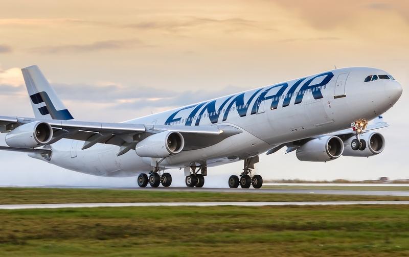 Финский самолет долетел из Хельсинки до Нью-Йорка на растительном масле