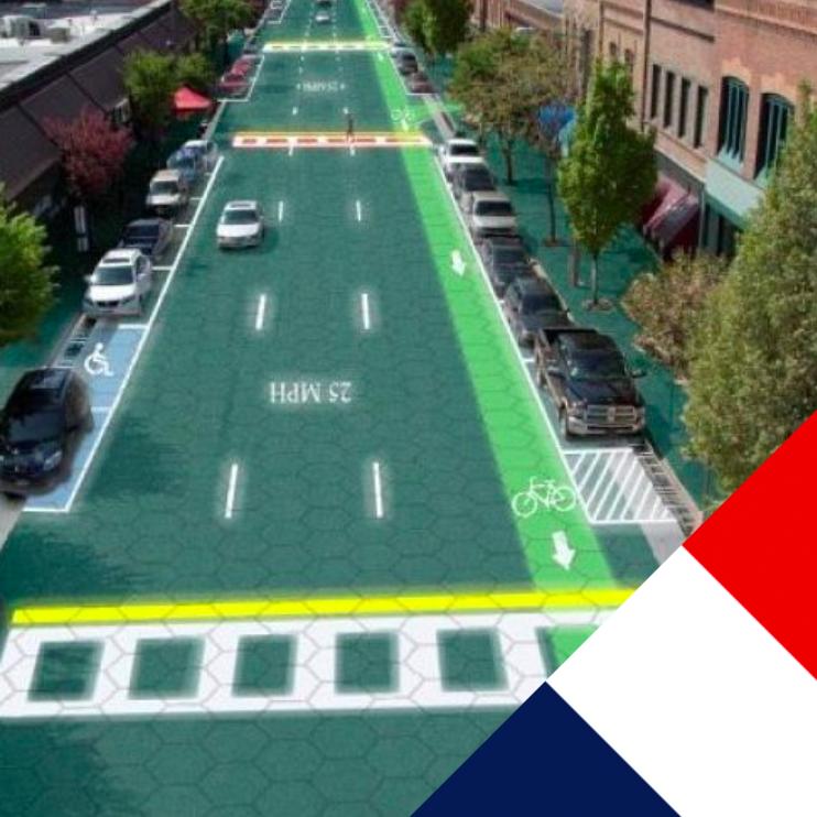 1000 км дорог во Франции покроют солнечными батареями