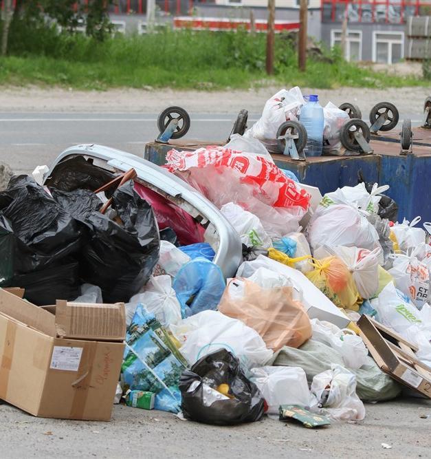 Мусорный коллапс случился в Томске с начала июля