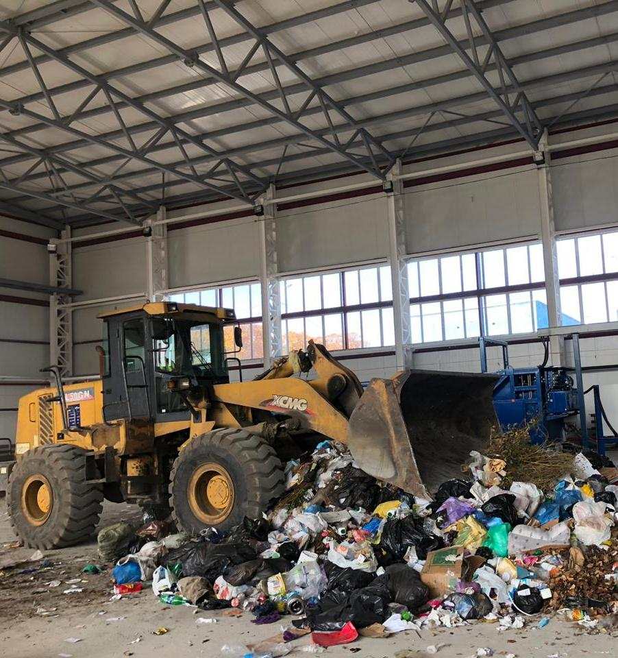 В Благовещенске запущен мусороперерабатывающий завод «БлагЭко»