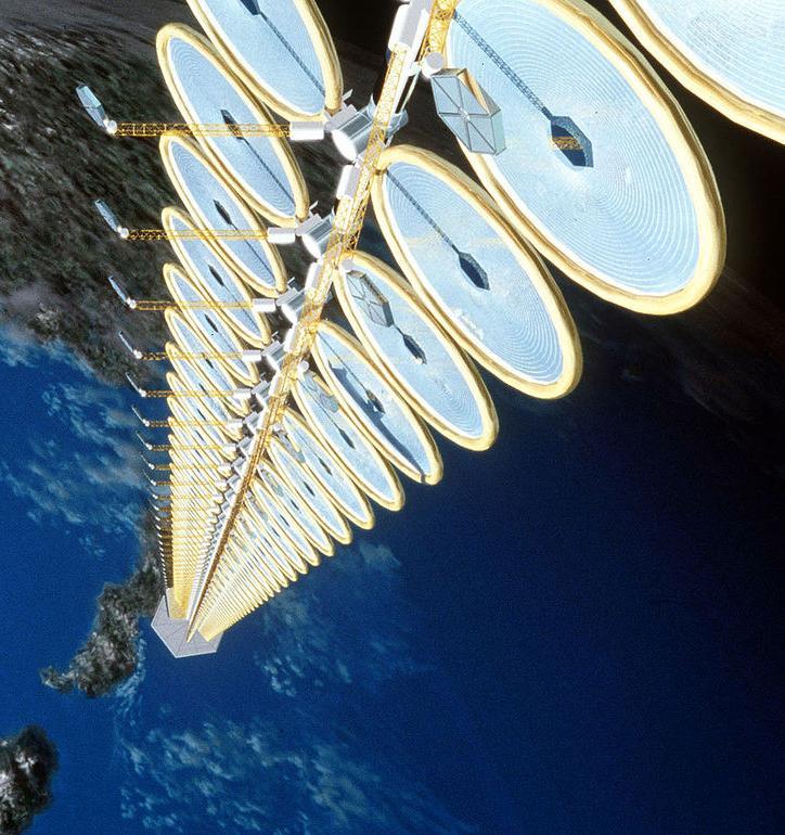 Китай построит первую космическую солнечную электростанцию