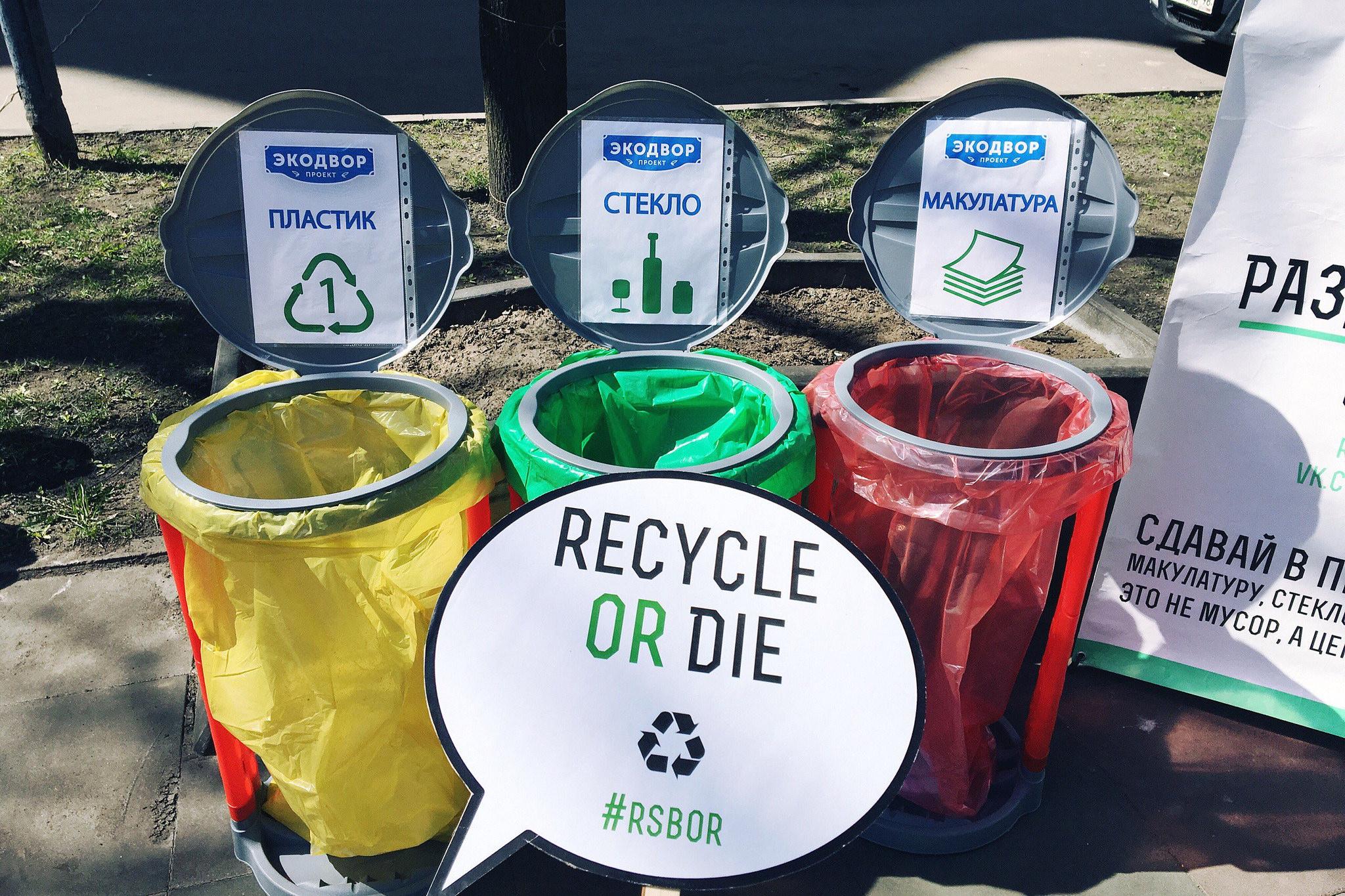 5 шагов, как организовать раздельный сбор мусора в своем дворе