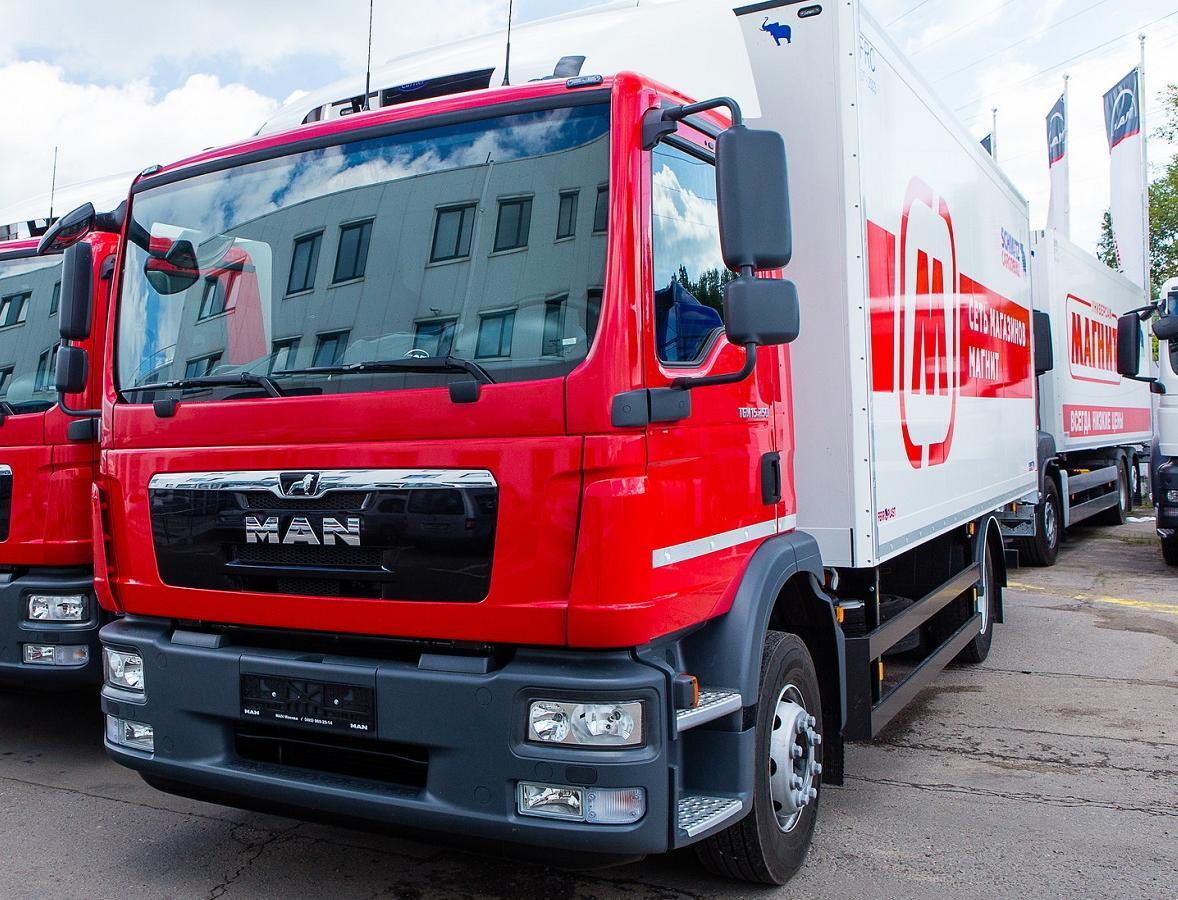 «Магнит» презентовал первые грузовики, работающие на экологичном топливе