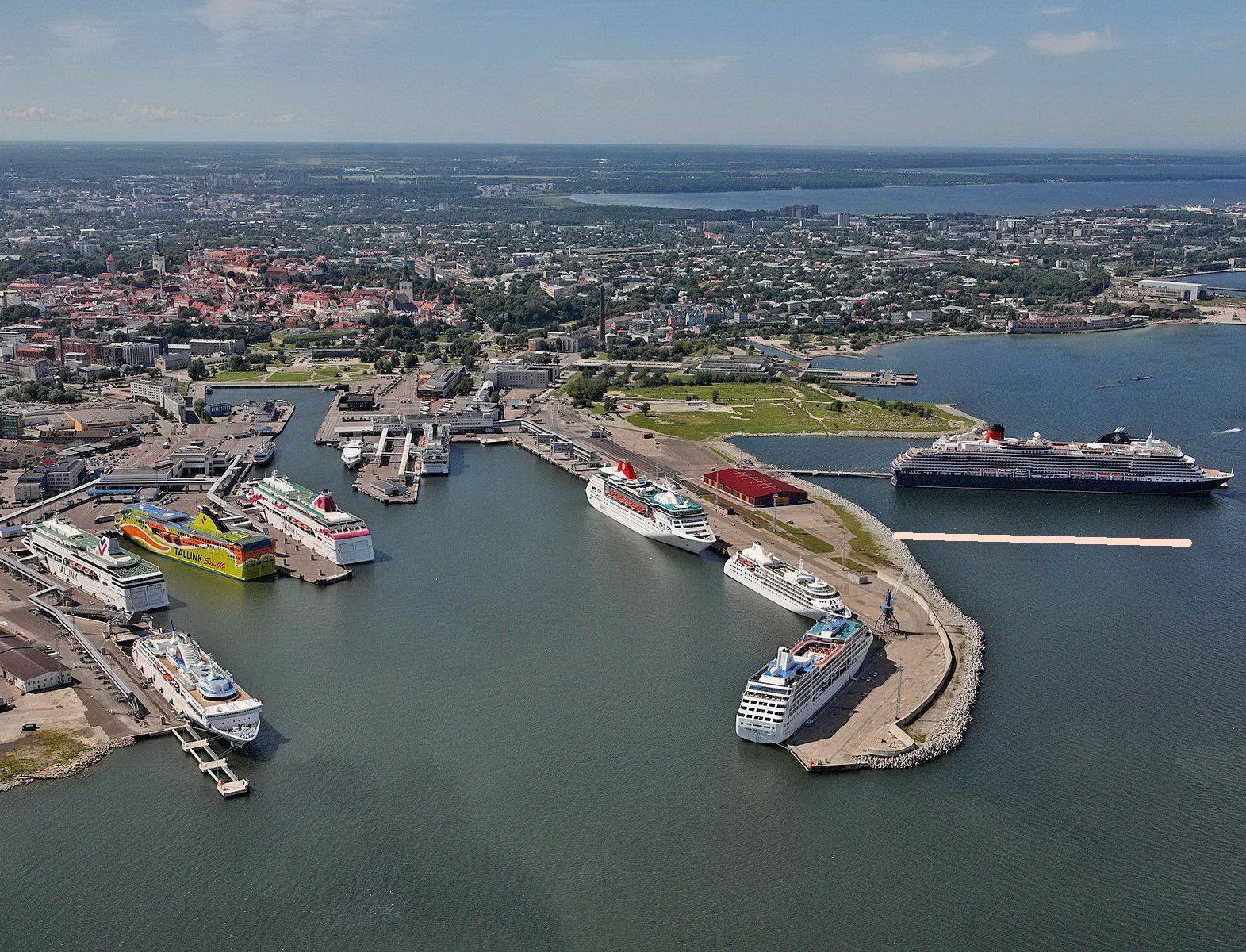 Порт столицы Эстонии перешел на возобновляемую энергию