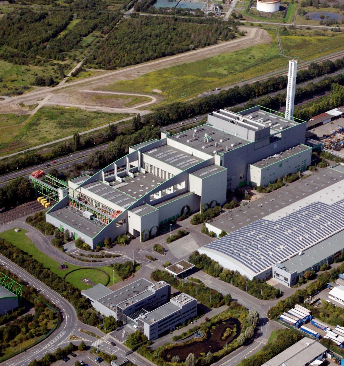 Фото: как устроен мусоросжигательный завод в Кёльне