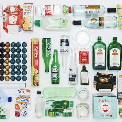 Эксперимент: Что в мусорном ведре у дизайнера Майкла Мирошкина