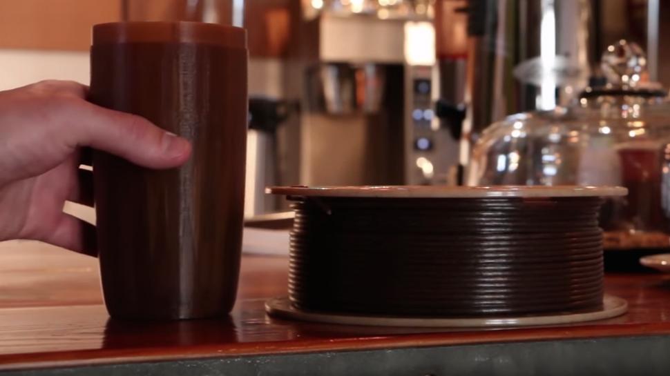 3D-принтер научили печатать кофейной гущей