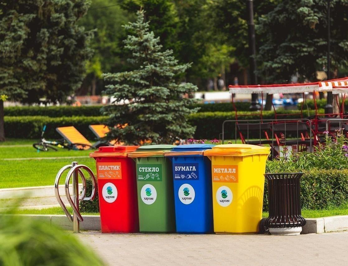 Минприроды выделит почти 3 млрд рублей на контейнеры для раздельного сбора