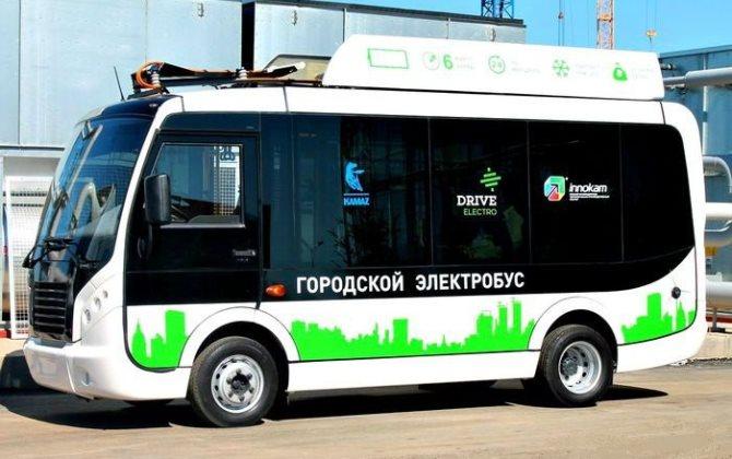 Первый российский компактный электробус пройдет испытания в Крыму
