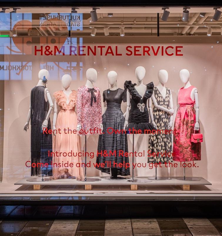 H&M запускает сервисы аренды и ремонта одежды