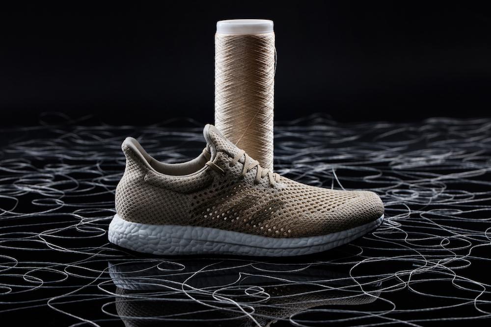 Adidas начнет продажу биоразлагаемых кроссовок в конце 2017 года