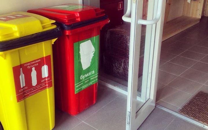 Детский сад Sunrise начал сортировать мусор