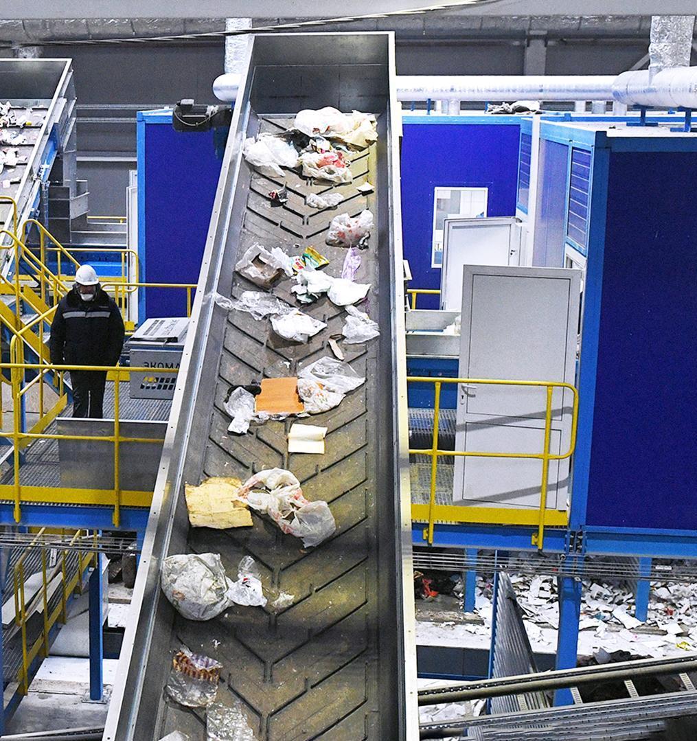 3,5 млн тонн отходов отправили на переработку в Подмосковье с 2018 года