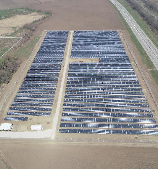 В Адыгее построили первую солнечную электростанцию