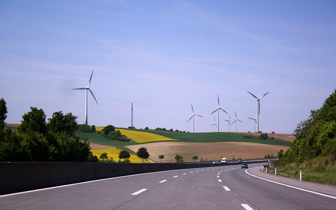 Энергия ветра осветит федеральную автомагистраль М4