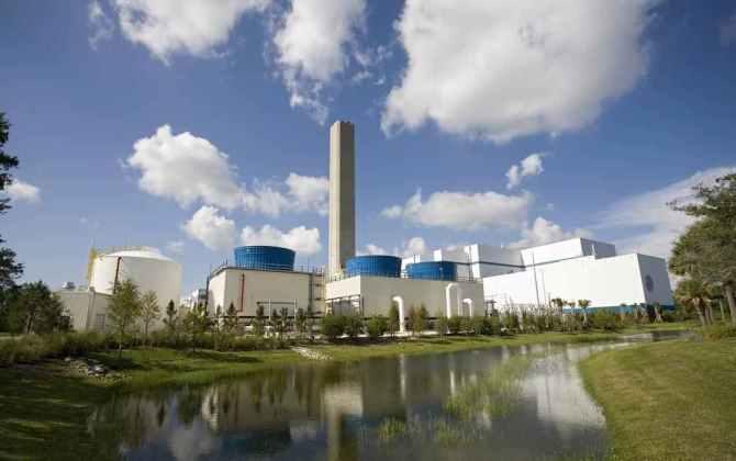 Электростанция будет получать энергию из переработанных отходов