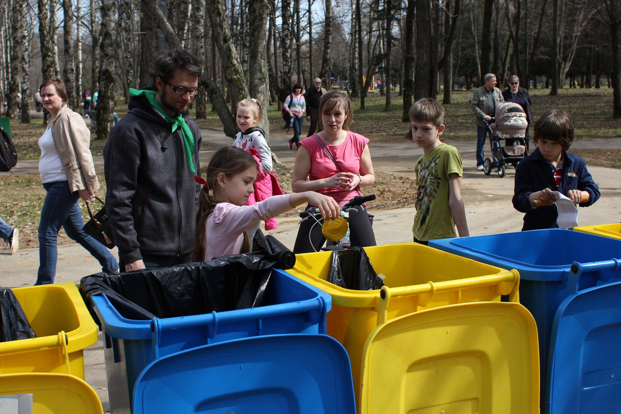 В «Сокольниках» научат раздельному сбору мусора