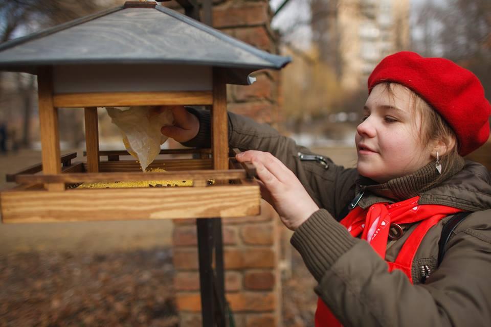 Цифра дня: 20 дизайнерских кормушек для птиц появились в «Аптекарском огороде»