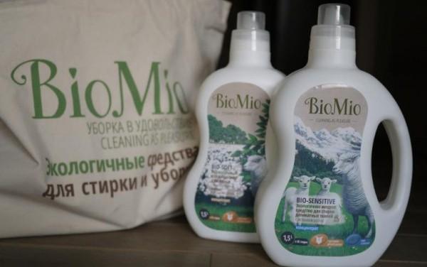 В Москве появились экологичные средства для дома BioMio