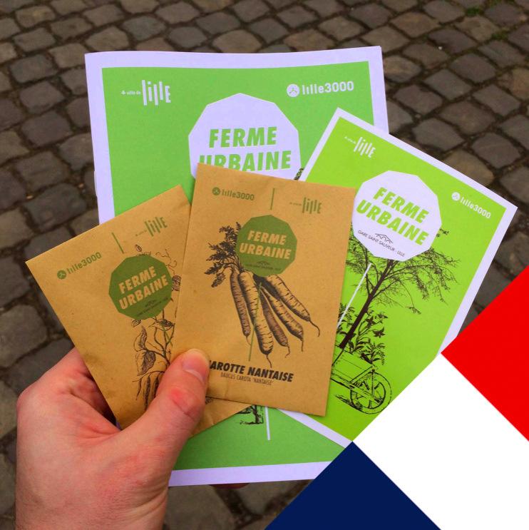 Бесплатные семена начали раздавать во французском Лилле