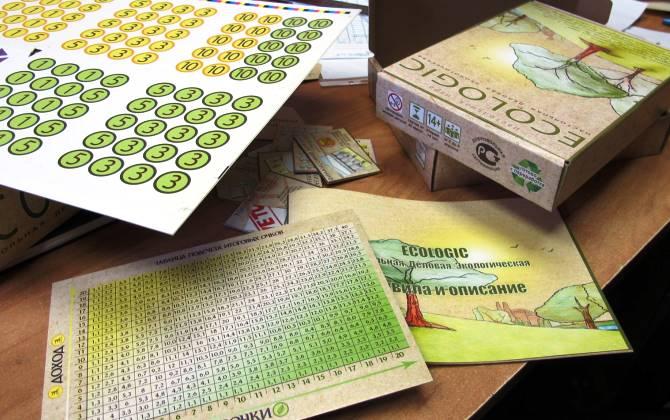 В конце марта выйдет второй тираж экологической игры Ecologic