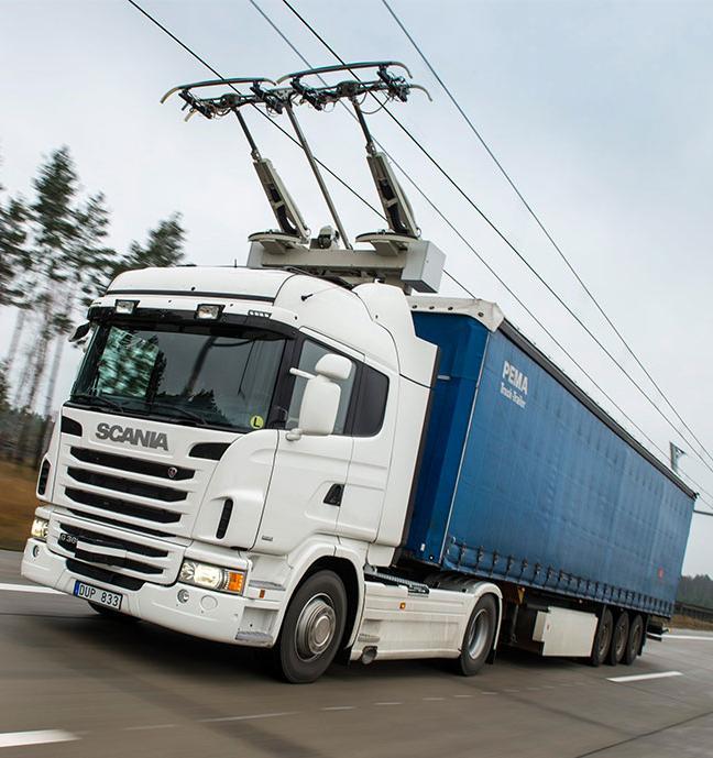 Электрические грузовики освободят от платы за пользование дорогами