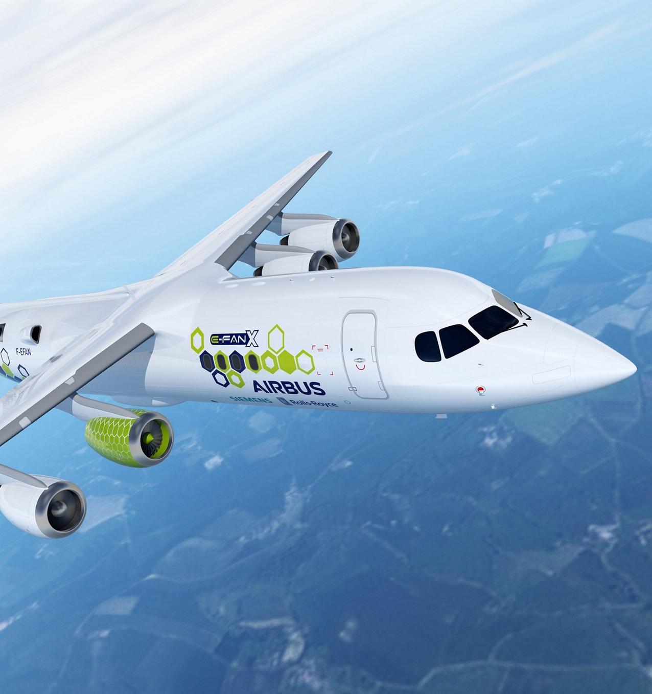 Airbus разработает первый в мире самолет без вредных выбросов