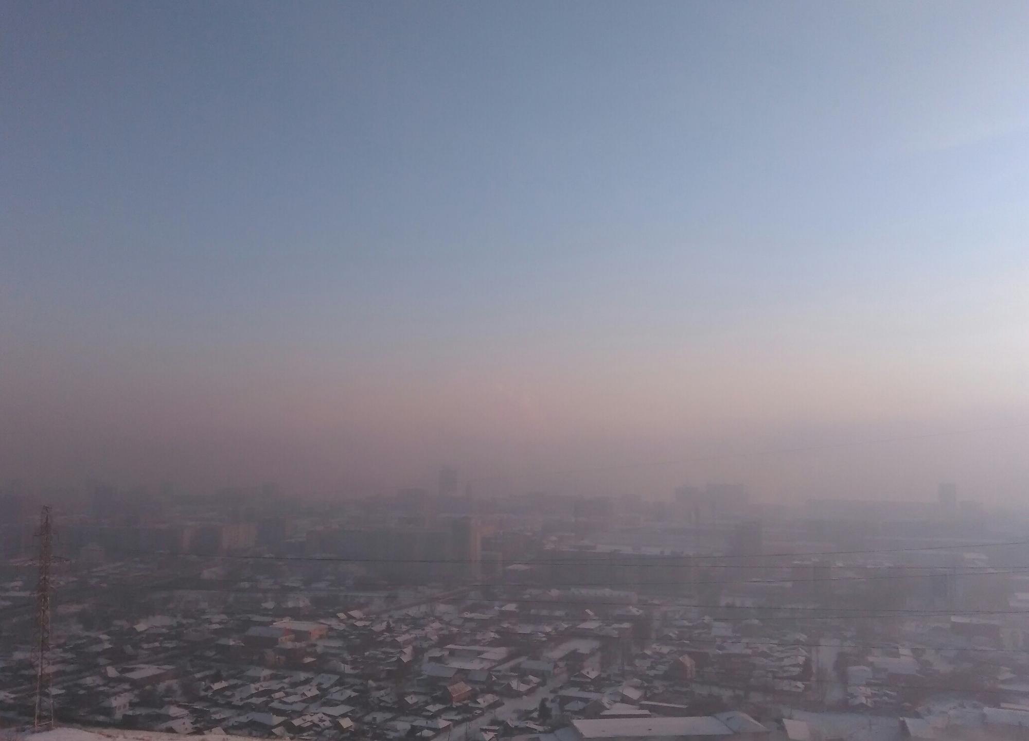 В Красноярске стало невозможно дышать из-за смога