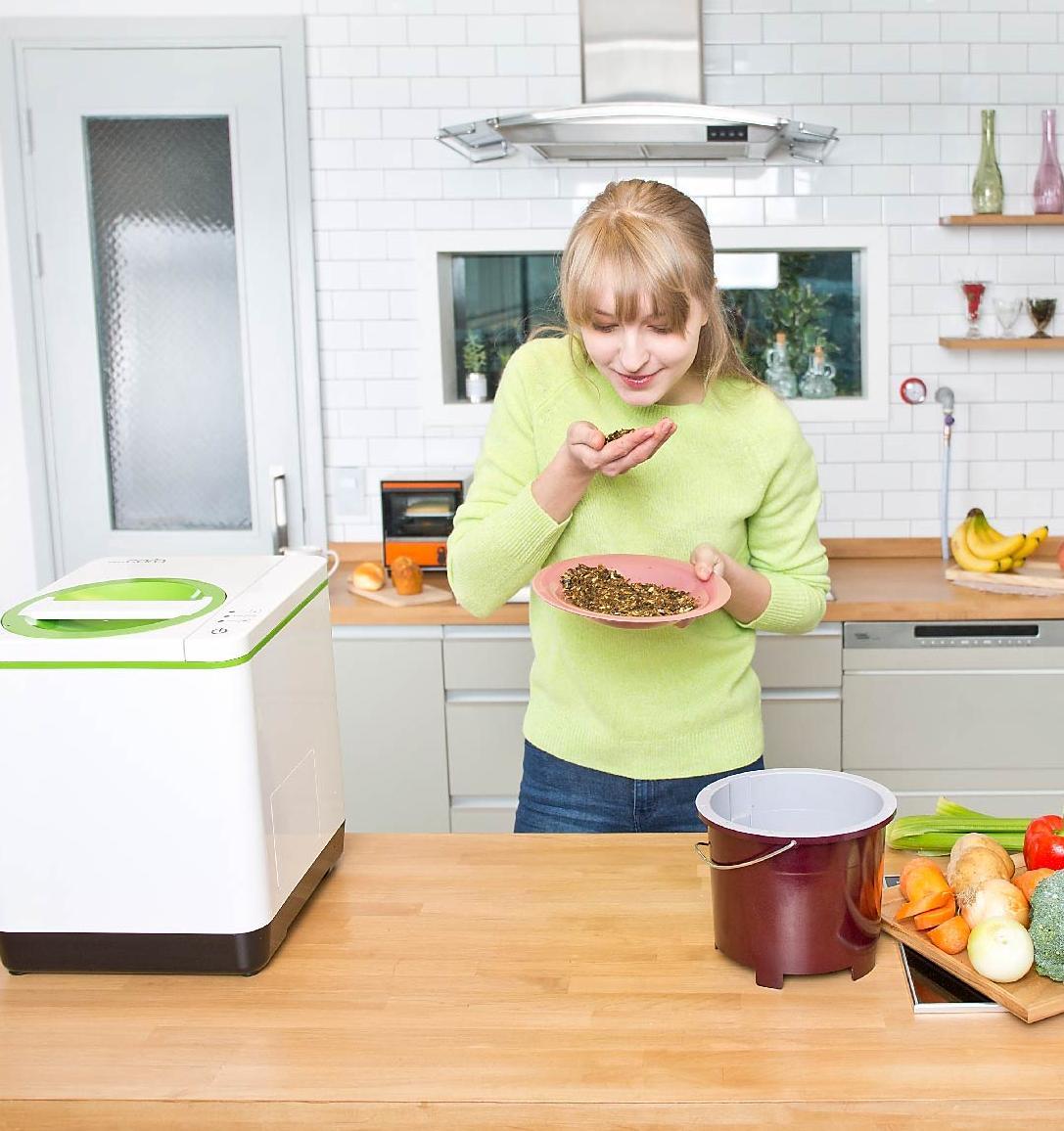 smartCARA: как из пищевых отходов за 3 часа получается высокопитательный компост