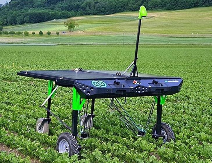 Робот на солнечных батареях будет бороться с сорняками