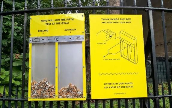 В Лондоне нашли гениальный способ сделать улицы чище