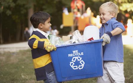 Экоклуб «Древо» проводит праздник с раздельным сбором мусора
