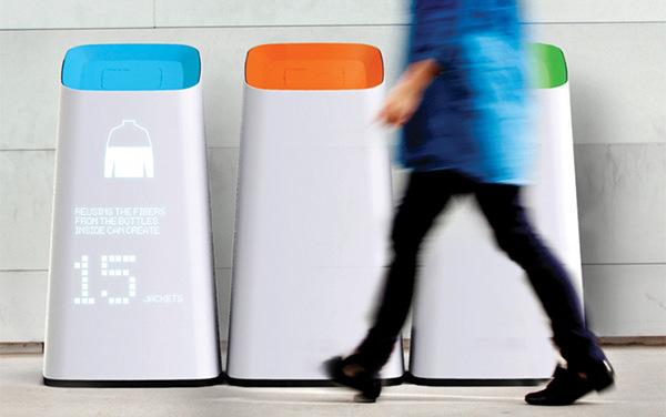 Концепт дня: говорящие контейнеры для раздельного сбора мусора