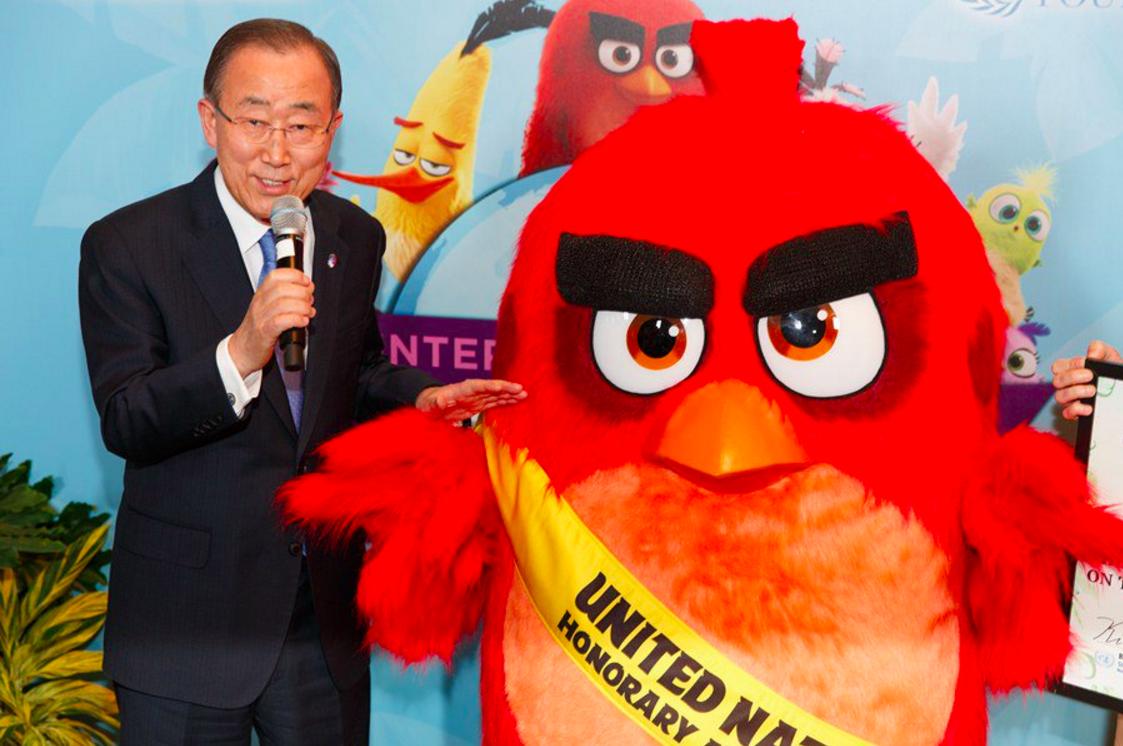 Персонаж Angry Birds стал послом ООН по переработке мусора
