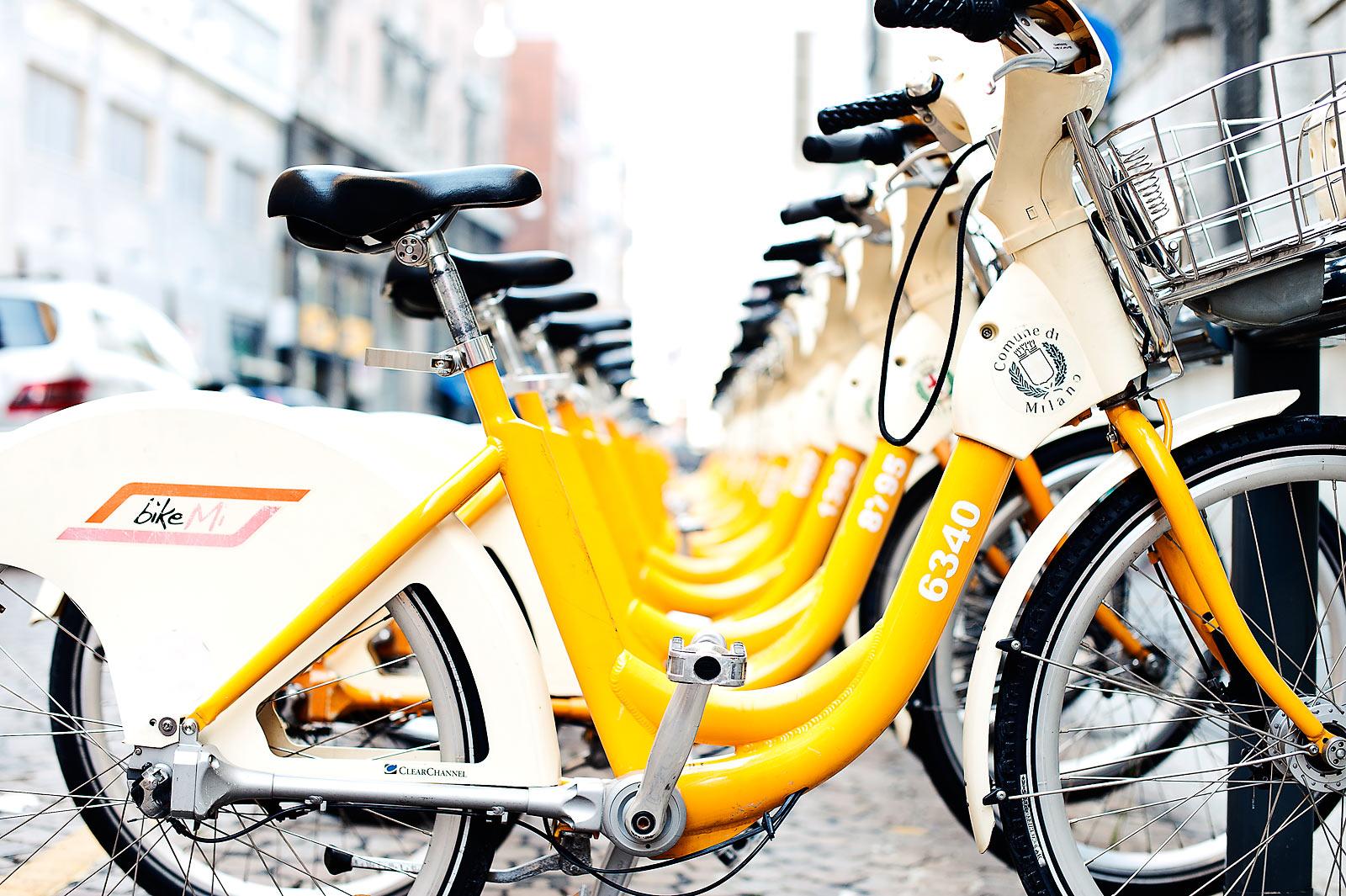 В Милане открылся бесплатный прокат детских велосипедов