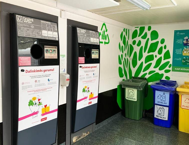 Ссылка дня: как в Литве работает депозитная система возврата бутылок