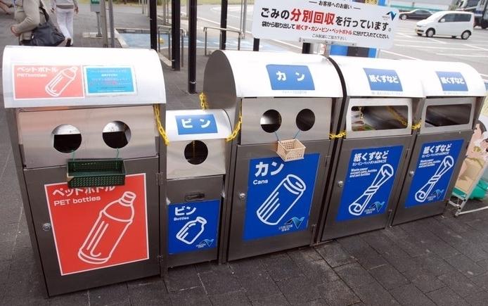 Ссылка дня: система раздельного сбора и переработки мусора в Японии