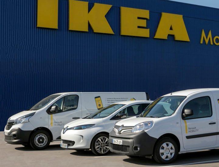 ИКЕА запустила доставку на электромобилях
