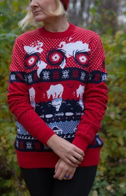 WWF выпустил экологичный неновогодний свитер