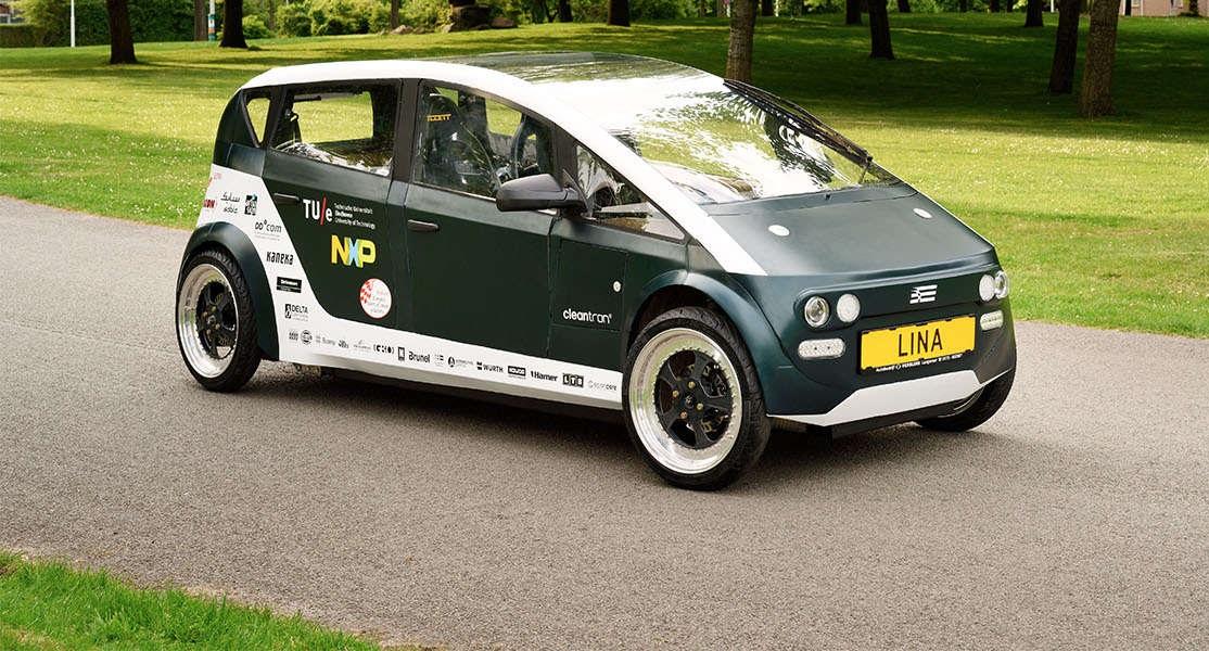 Студенты из Нидерландов создали первый в мире биоразлагаемый автомобиль