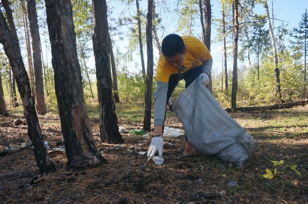 Москвичей приглашают на уборку леса с раздельным сбором мусора