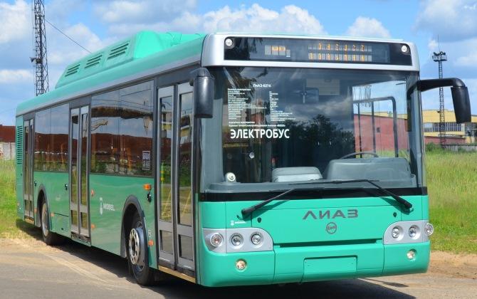 Электробусы станут заменой троллейбусам на московских маршрутах