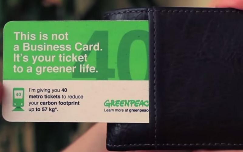 «Зелёная» визитка Greenpeace России попала в шортлист «Каннских львов»